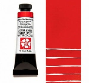 Daniel Smith akwarela Cadmium Red Medium Hue