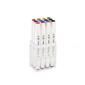 Touch Twin Brush Marker 12 SET Main Color - komplet