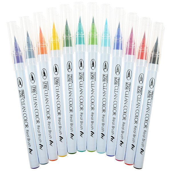 Kuretake ZIG Clean Color Real Brush
