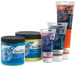 Speedball Water Soluble Block Ink