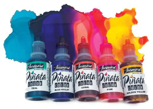 Pińata Alcohol Inks