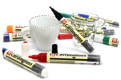 Pen-Touch Ceramglass markers